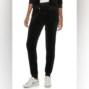 Juicy Couture Velour Jogger Pants Med NWOT